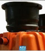 AZU Voda DomaPlant je mali sustav za tretman civilnih otpadnih voda kućanstava.