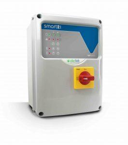 SMART EVO 2  električnu upravljački ormarić s najsveobuhvatnijim svojstvima do sada  za 2 crpke.