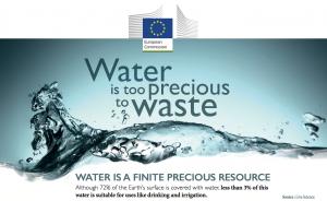 Europska komisija – Voda je predragocijena da bi bila otpad