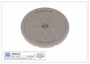 Polietilenski poklopac IDROLID DN 600 lagan, testiran, certificiran